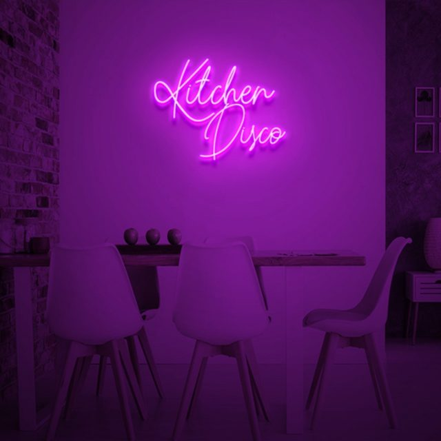 a neon kitchen vibe 🍳 DM us for this neon sign, only @theyeoneon#neon #neonsigns #customneon #customneonsigns #kitchendesign #kitcheninterior #kitchenlighting #kitcheninspo