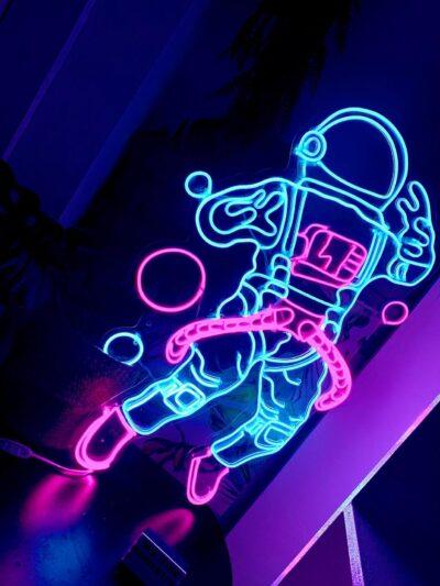 Astronaut Neon Signs