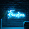 freedom neon signs
